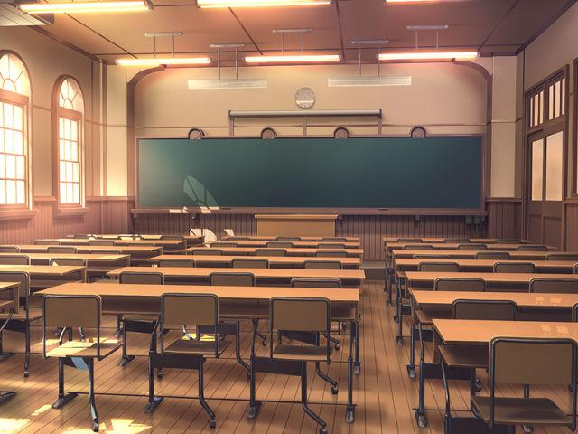 教室その2 (夕方)