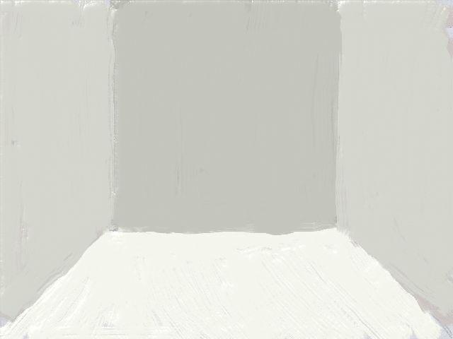 シンプルな部屋(白)