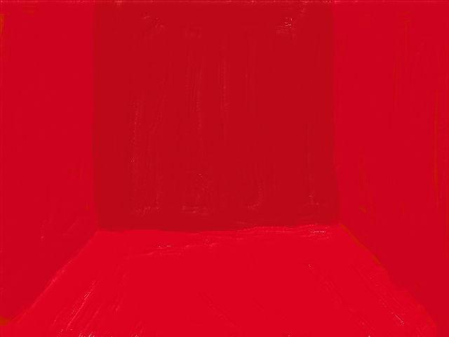 シンプルな部屋(赤)