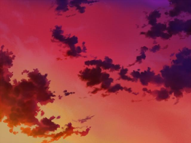 空(夕焼け2)
