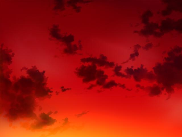 空(夕焼け3)